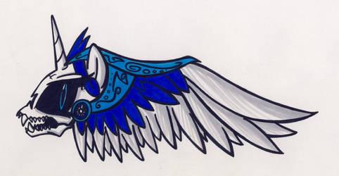 Luna's Angels Logo by Sketchywolf-13