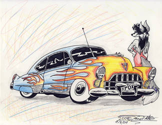 Foxy C. Thirteen by Sketchywolf-13