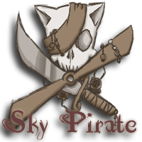 Sky Pirate Logo by MFox87