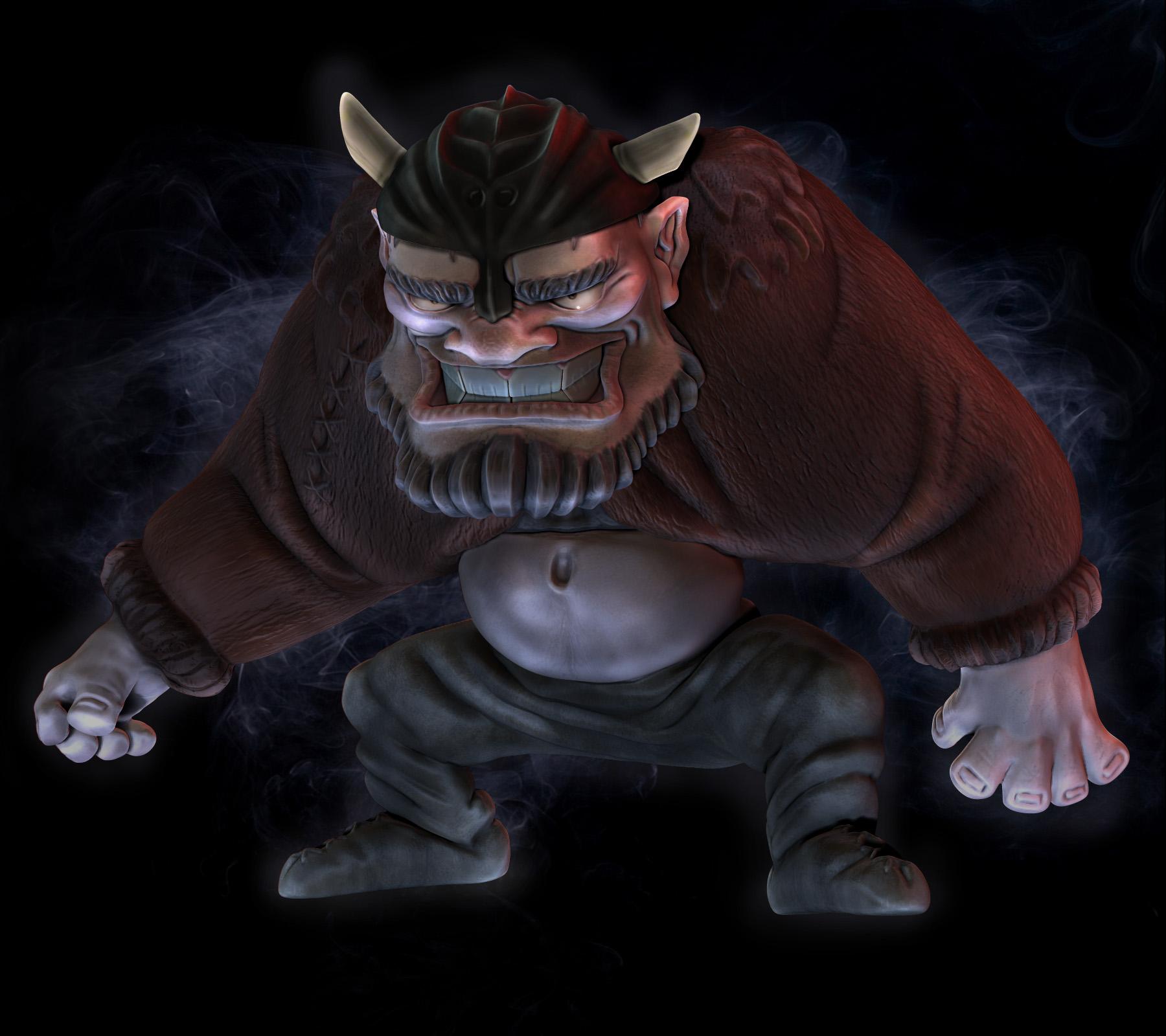 Evil Viking by TheRedBarn