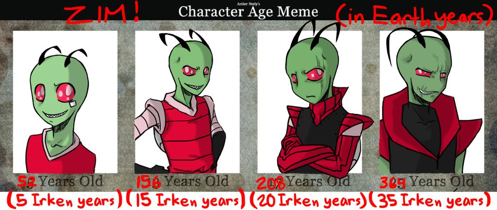 TheTwiggyDance 118 21 Zim Ages Meme By NEOmi TriX