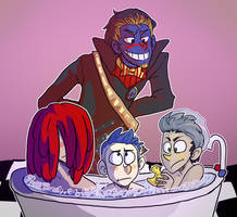 It's Time for a Bath! by NEOmi-triX