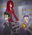 The Puppets Go Grocery Shopping