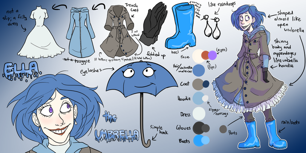 Ella the Umbrella ~Reference~ by NEOmi-triX on DeviantArt