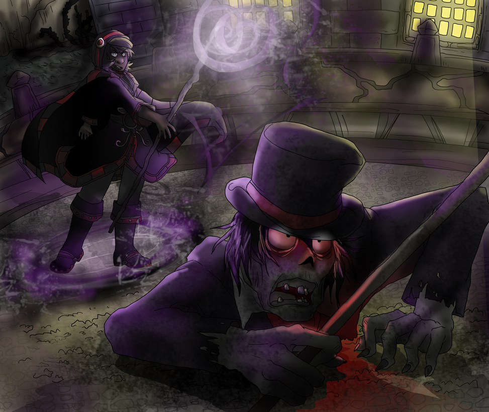 Olivia Nighttamer Raises the Dead by NEOmi-triX