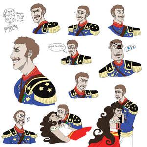 Joaquin Colored Sketches