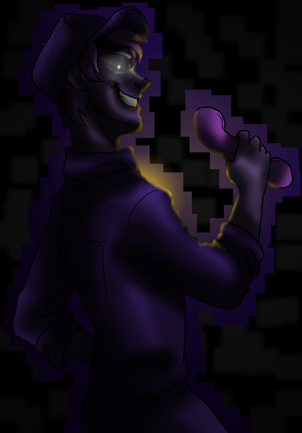 Purple guy by neomi trix on deviantart