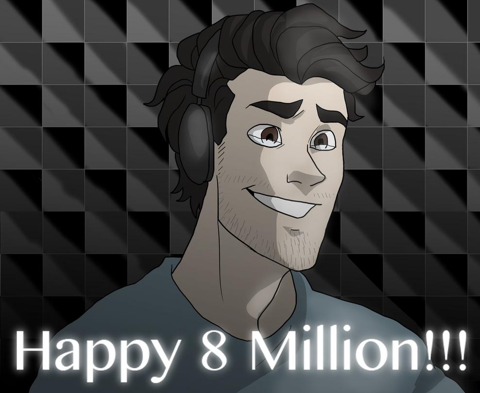 Happy 8 Million, Mark! by NEOmi-triX