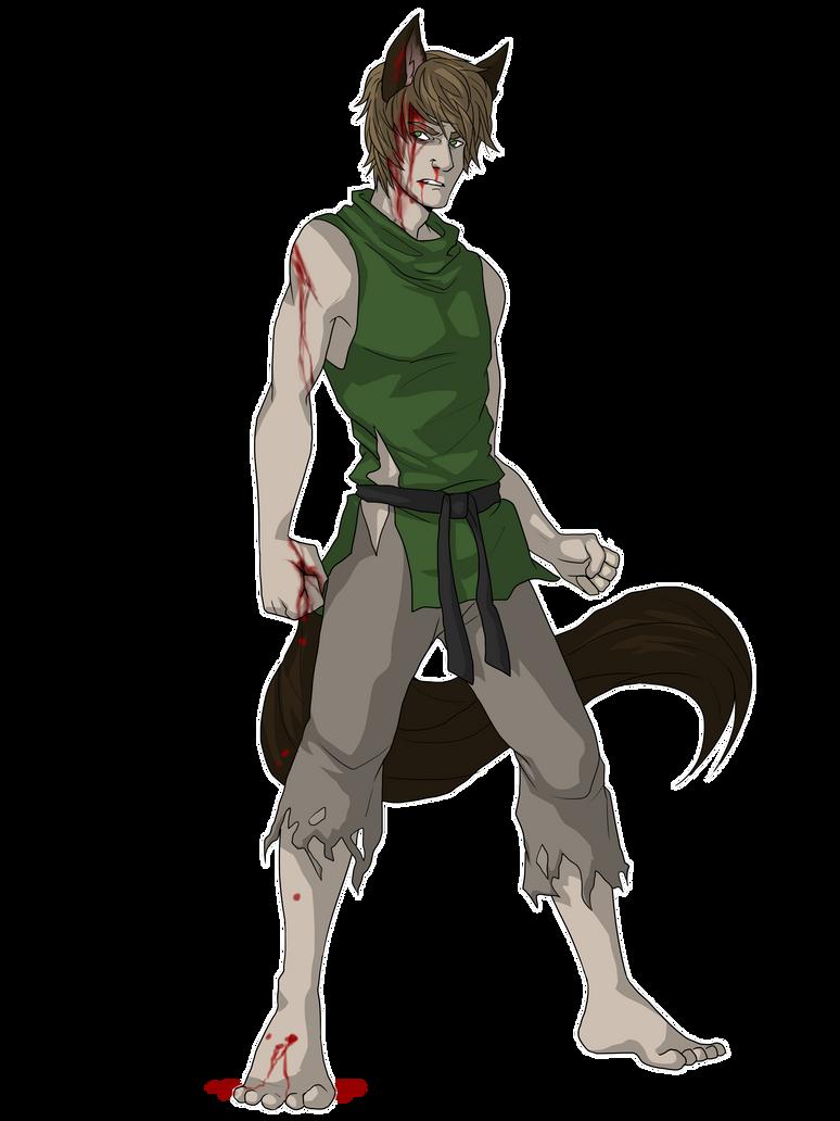 $Commission for Xakriuth -- Daren by NEOmi-triX