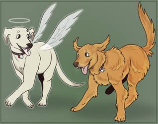 My dogs by NEOmi-triX