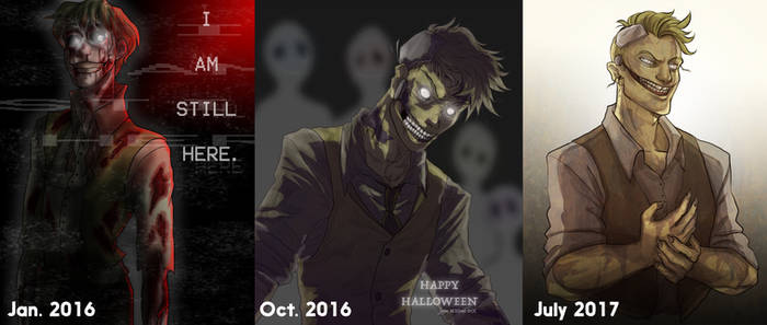 My human Springtrap over time