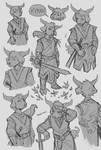 Kyran sketches