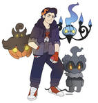 Ghost-fire gym leader sona