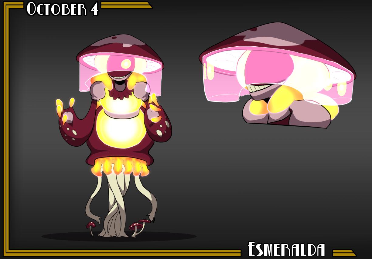 CDC2016 -Oct4- Esmeralda aka Glow Witch by LulzyRobot