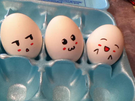 Happy Easter - Kawaii Theme
