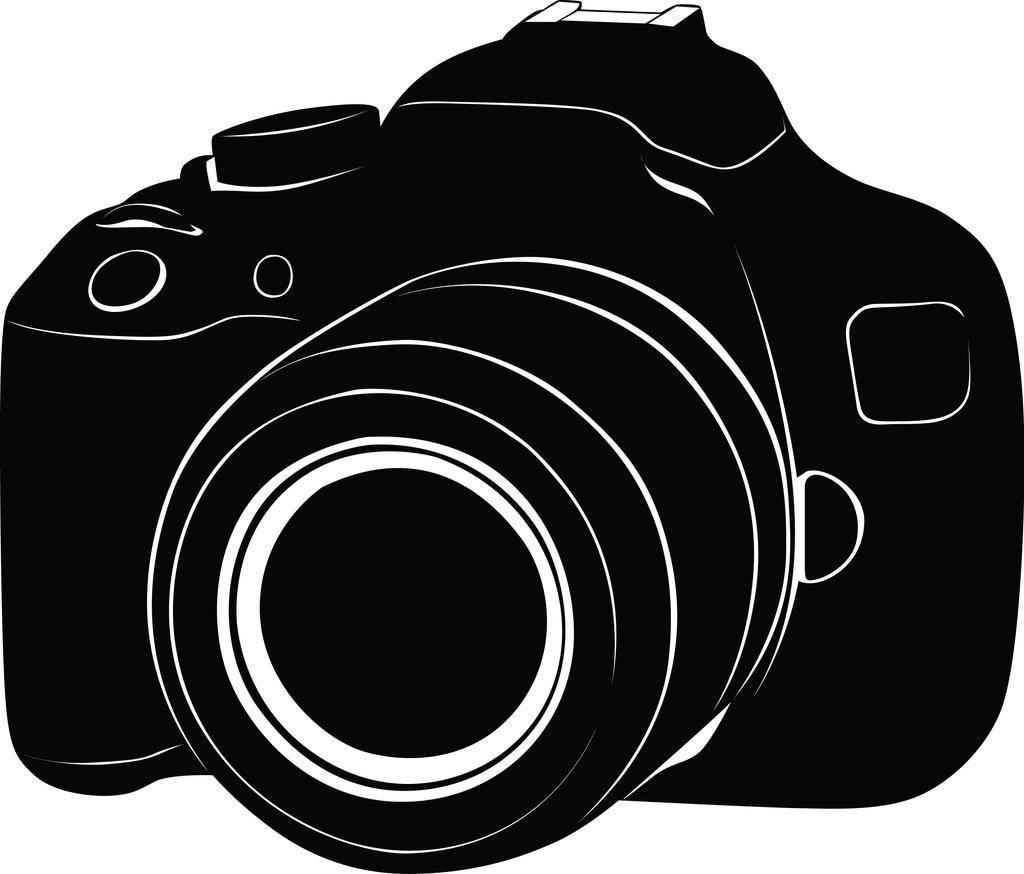 Silhouette Camera Dslr Black Vector Converted By Ujiart On Deviantart Almost files can be used for commercial. silhouette camera dslr black vector