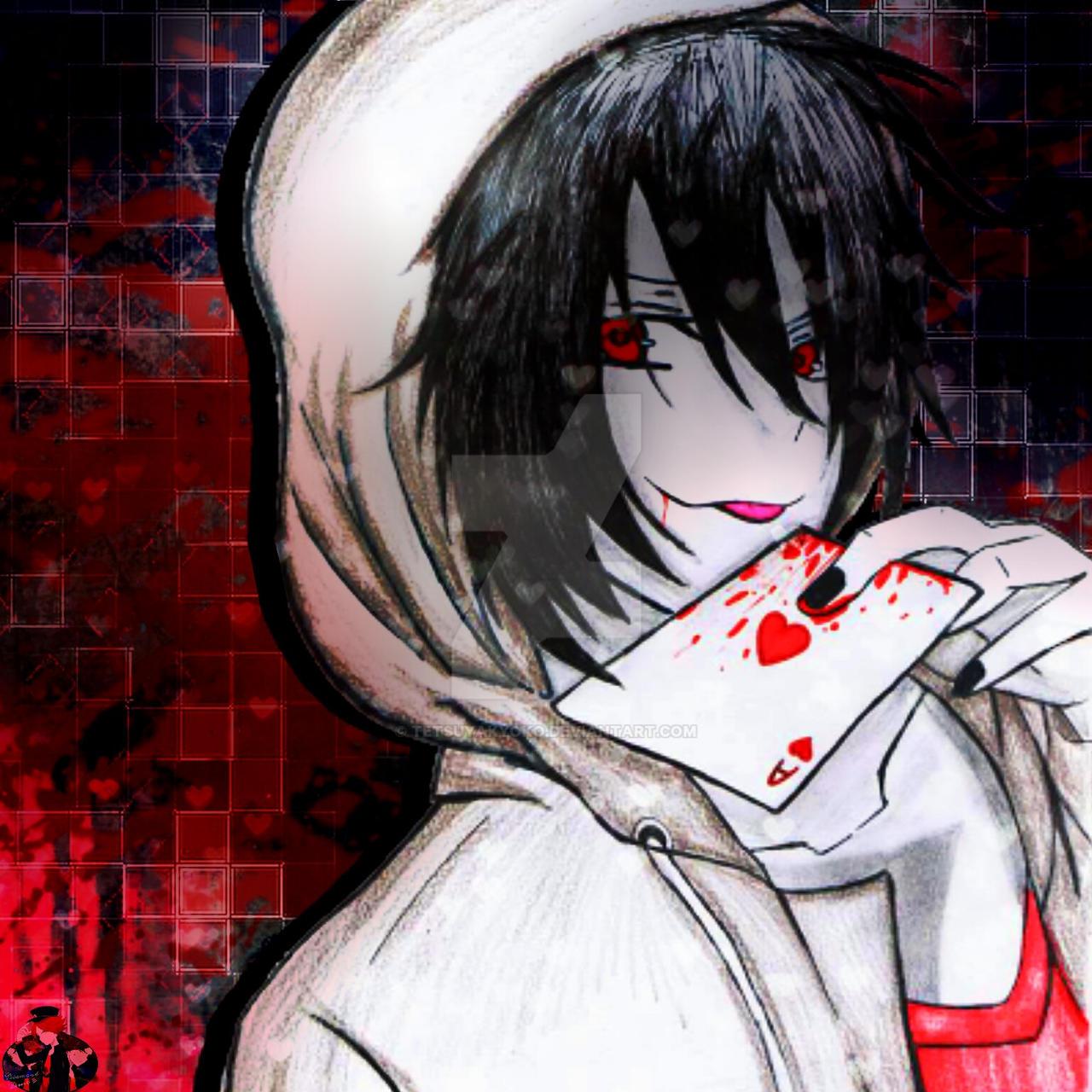 Jeff the killer anime version by TetsuyaKyoko on DeviantArt