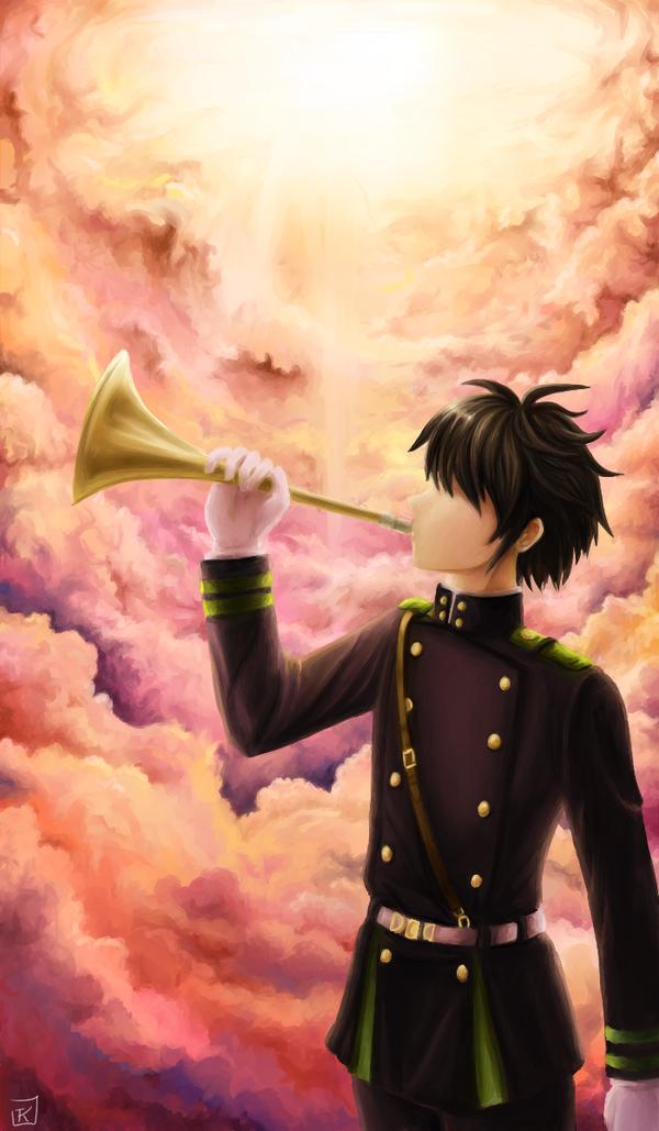 Trumpet of the Apocalypse by Zaleho