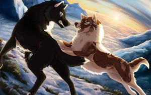 Battle on the Spine of Odin