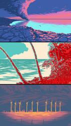landscape palette challenges