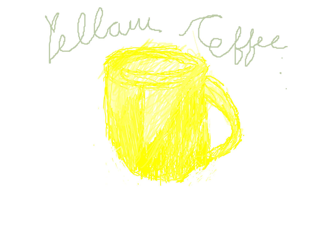Yellow Coffee Logo by timisaberry