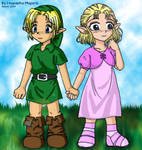 Link+Zelda - Sweet Love Days