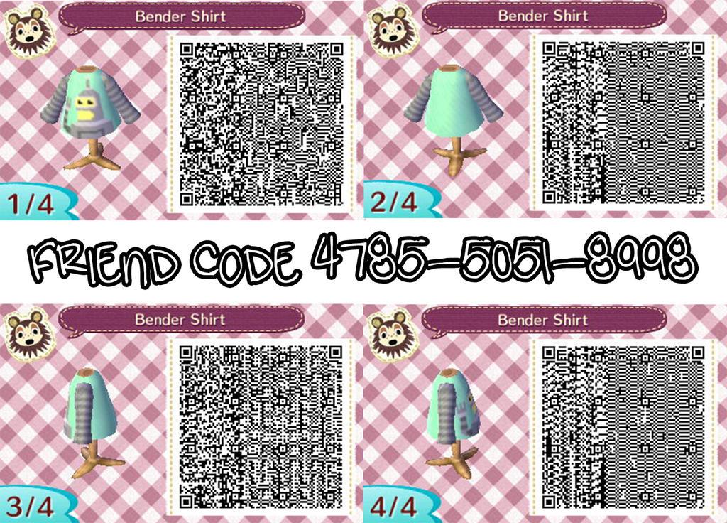 Animal Crossing New Leaf Shirt Designs   Animal Crossing New Leaf Spring Clothes Qr Codes Bronze Cardigan