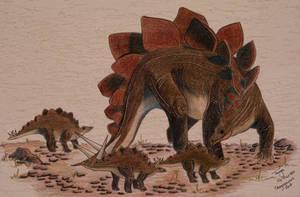 Stegosaurus Pod by Elentarri
