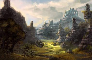 Landscape 3 by Minionslayer