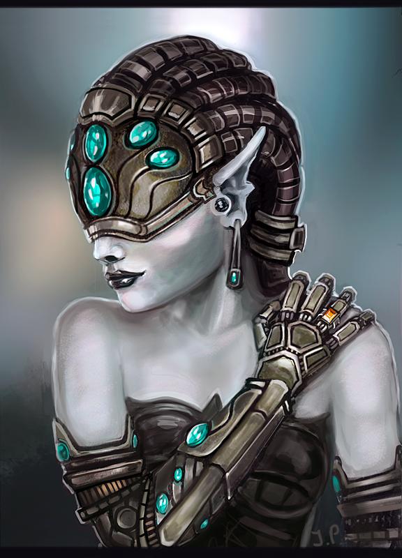 Cyborg Girl by Minionslayer