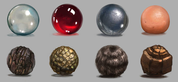 Material Studies by Minionslayer
