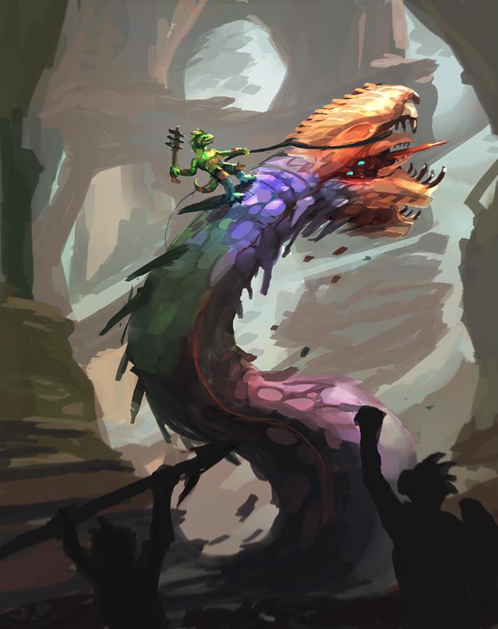 Lizardmen Initiation by Minionslayer