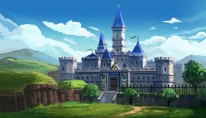 Legend of Zelda - Hyrule Castle by Minionslayer