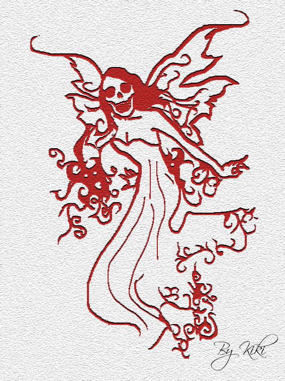 Desperado tattoo for Skull fairy tattoos