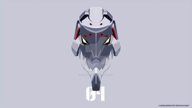 Evangelion Unit 04 Head Wallpaper By CapiqArtQuest
