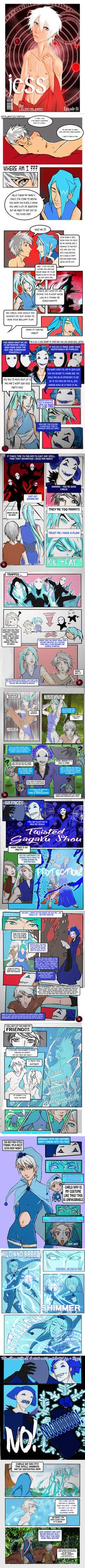 Jess Comics Episode 1 by miserysong
