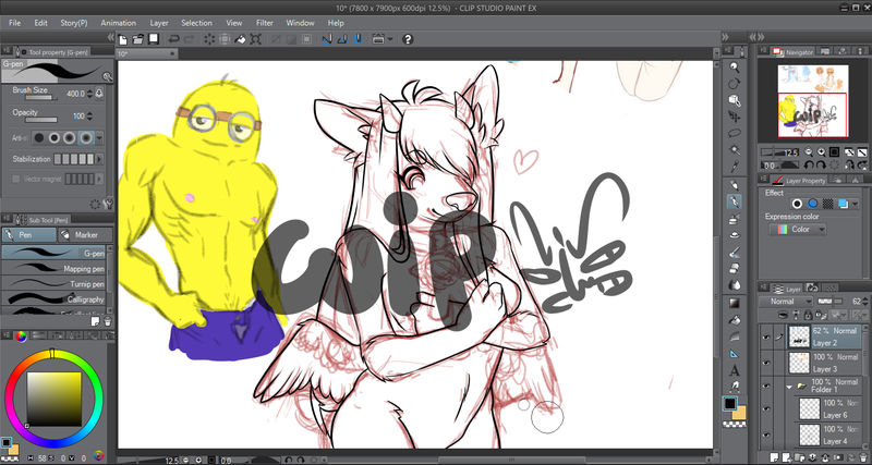 commission wip