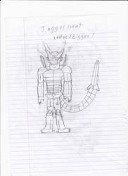 Dragon Ball Double S: Juggernaught by DarkTheRelentless