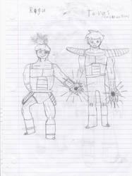 Dragon Ball Double S: Ragu and Taivas by DarkTheRelentless