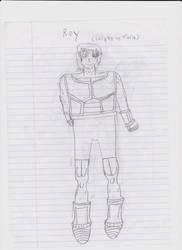 Roy (Saiyan Armor) by DarkTheRelentless