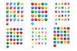 156 letter marks for logo