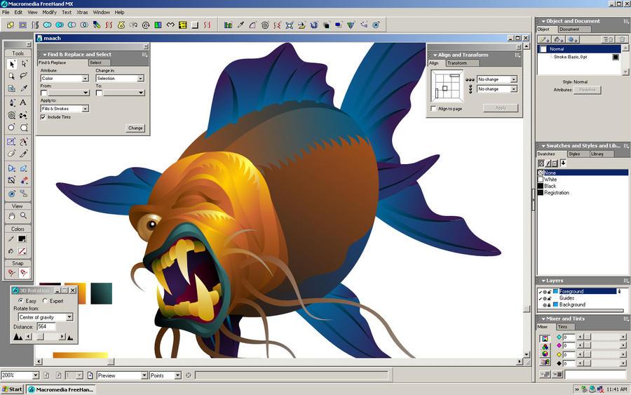 hungry fishy wip 2