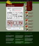 comics blog design