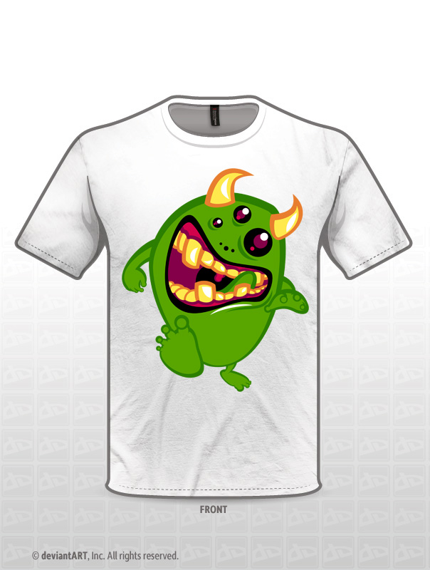 Greeny t-shirt design