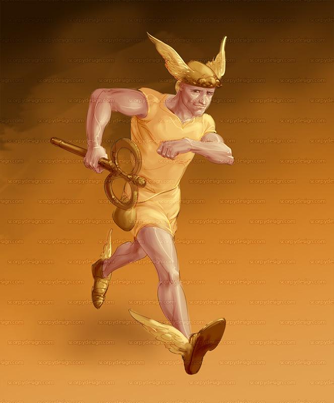 Hermes by scorpy-roy