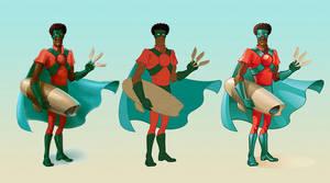 Super afro man