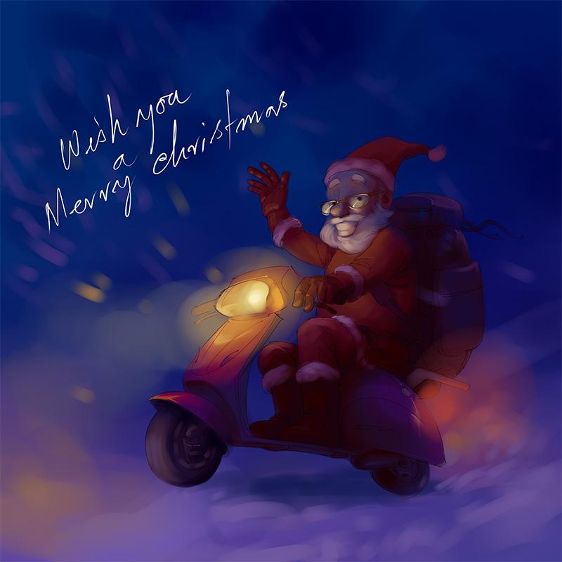 Santa by scorpy-roy