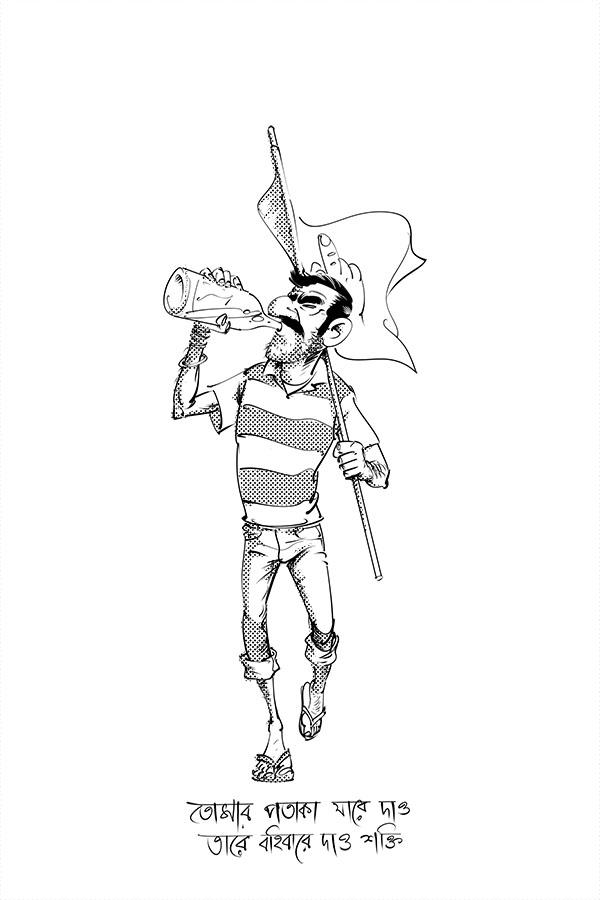 Flag bearer by scorpy-roy