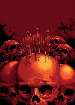 horror magazine cover artwork