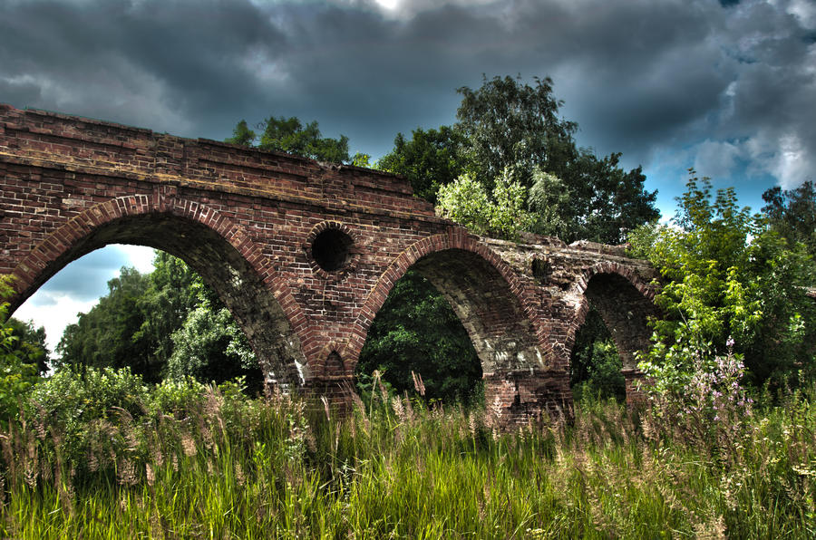 Old aqueduct 2 by Lineageman